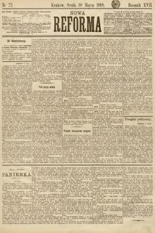 Nowa Reforma. 1898, nr72