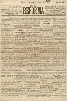 Nowa Reforma. 1898, nr73