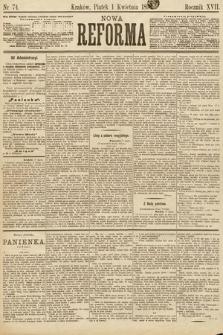 Nowa Reforma. 1898, nr74