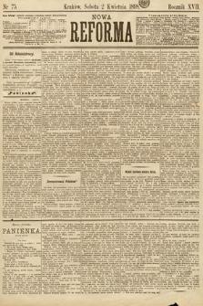 Nowa Reforma. 1898, nr75