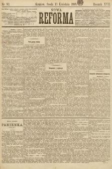 Nowa Reforma. 1898, nr83