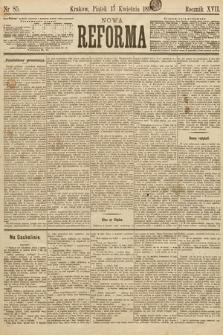 Nowa Reforma. 1898, nr85