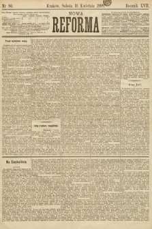 Nowa Reforma. 1898, nr86