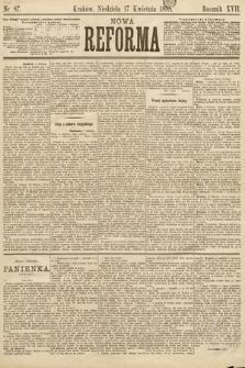 Nowa Reforma. 1898, nr87