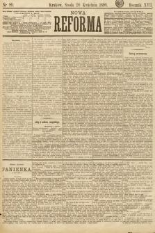 Nowa Reforma. 1898, nr89