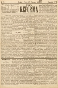 Nowa Reforma. 1898, nr91