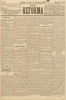 Nowa Reforma. 1898, nr98