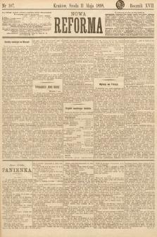 Nowa Reforma. 1898, nr107