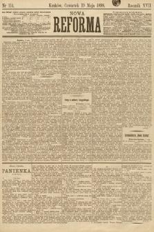 Nowa Reforma. 1898, nr114