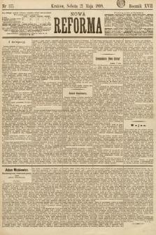 Nowa Reforma. 1898, nr115