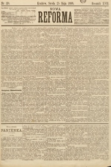 Nowa Reforma. 1898, nr118