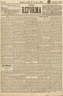 Nowa Reforma. 1898, nr134