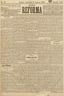 Nowa Reforma. 1898, nr135