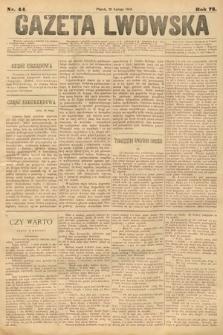 Gazeta Lwowska. 1883, nr 44