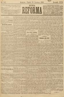 Nowa Reforma. 1898, nr142