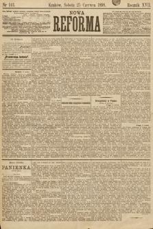 Nowa Reforma. 1898, nr143