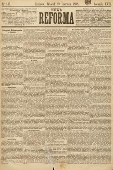 Nowa Reforma. 1898, nr145