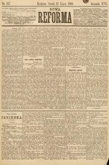 Nowa Reforma. 1898, nr157