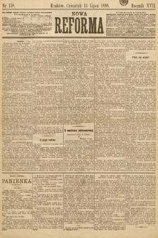 Nowa Reforma. 1898, nr158