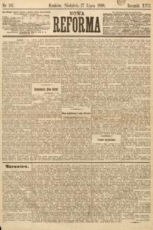 Nowa Reforma. 1898, nr161