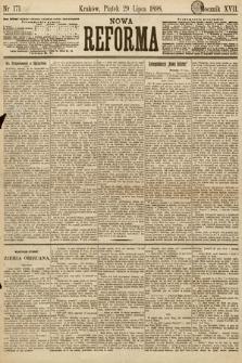 Nowa Reforma. 1898, nr171