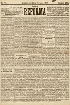 Nowa Reforma. 1898, nr173