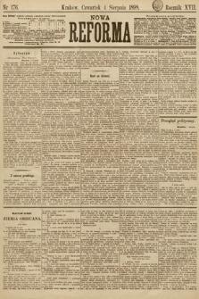 Nowa Reforma. 1898, nr176