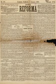 Nowa Reforma. 1898, nr179