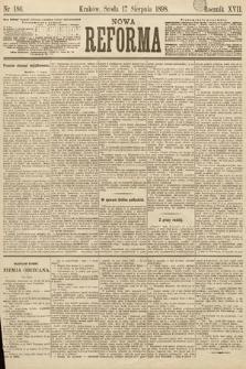 Nowa Reforma. 1898, nr186