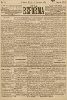 Nowa Reforma. 1898, nr188