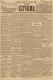 Nowa Reforma. 1898, nr189