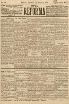 Nowa Reforma. 1898, nr190
