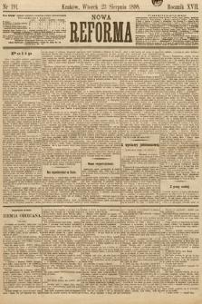 Nowa Reforma. 1898, nr191