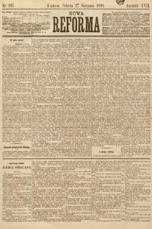 Nowa Reforma. 1898, nr195