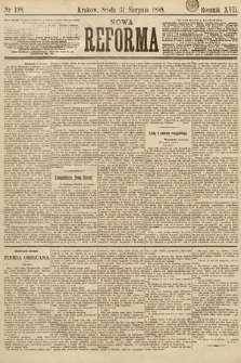 Nowa Reforma. 1898, nr198