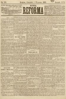 Nowa Reforma. 1898, nr199