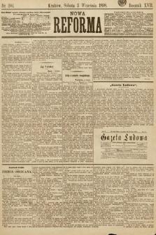 Nowa Reforma. 1898, nr201