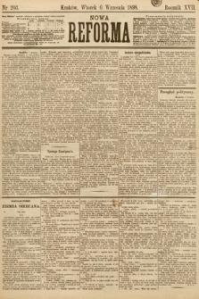 Nowa Reforma. 1898, nr203