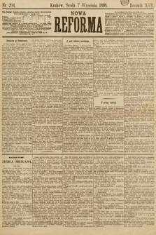 Nowa Reforma. 1898, nr204