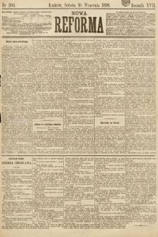 Nowa Reforma. 1898, nr206