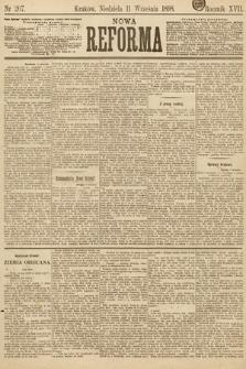 Nowa Reforma. 1898, nr207