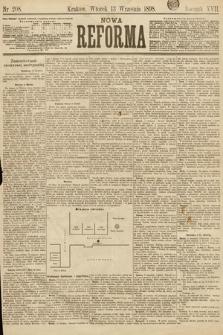 Nowa Reforma. 1898, nr208