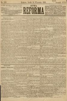 Nowa Reforma. 1898, nr209