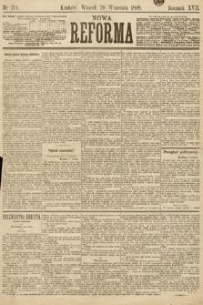 Nowa Reforma. 1898, nr214