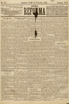 Nowa Reforma. 1898, nr215