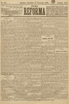 Nowa Reforma. 1898, nr216