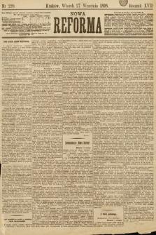 Nowa Reforma. 1898, nr220