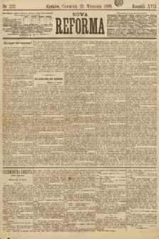 Nowa Reforma. 1898, nr222