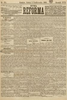 Nowa Reforma. 1898, nr224