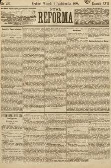 Nowa Reforma. 1898, nr226